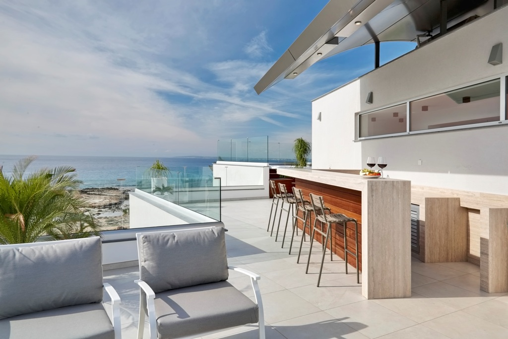 Front line villa for rent in Ayia Napa, Cyprus