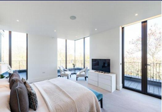 A four bedroom penthouse apartment for sale in London
