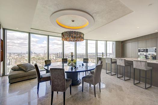 An exceptional three bedroom apartment for sale in London