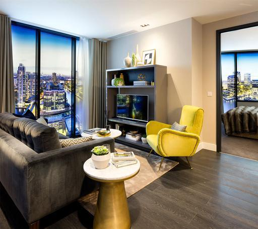 Lateral Penthouse apartment for sale in London