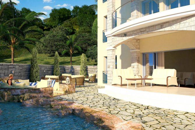 Новые апартаменты в Будванской Ривьере: новый жилой комплекс в Бечичи