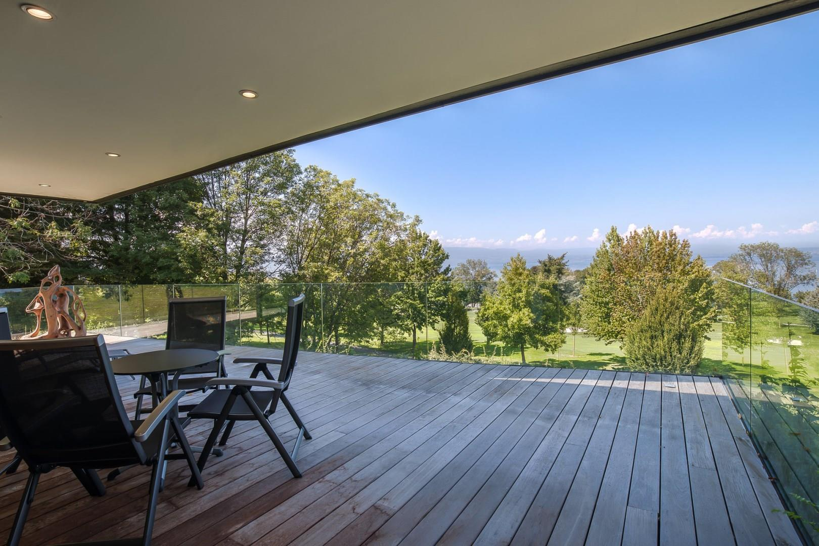 Modern villa in the resort town of Evian-les-Bains, France