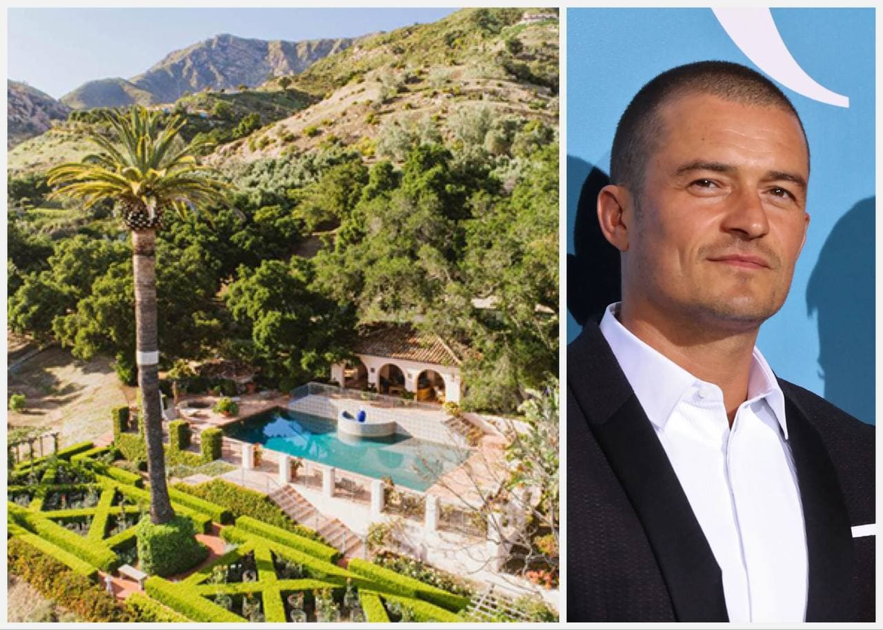 Orlando Bloom and Katy Perry's estate in Montecito
