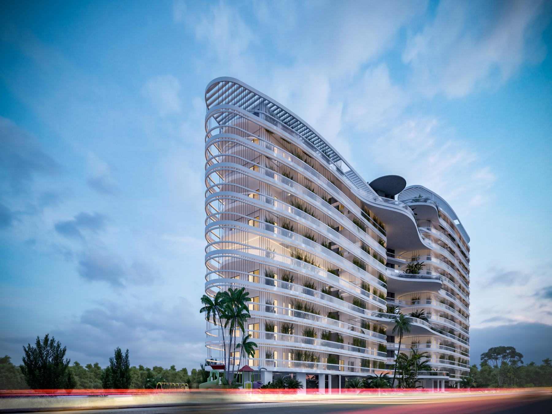 Beautiful apartment in a new residential complex in Larnaca