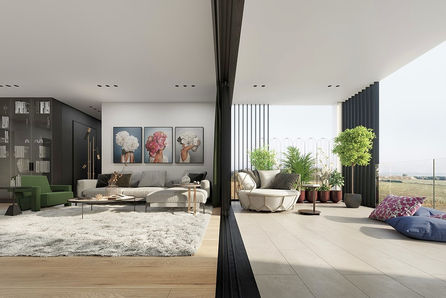 Apartment in a unique residential project in Limassol