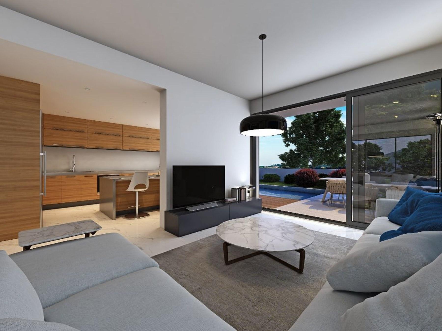 Comfortable villa in a boutique complex, Paphos