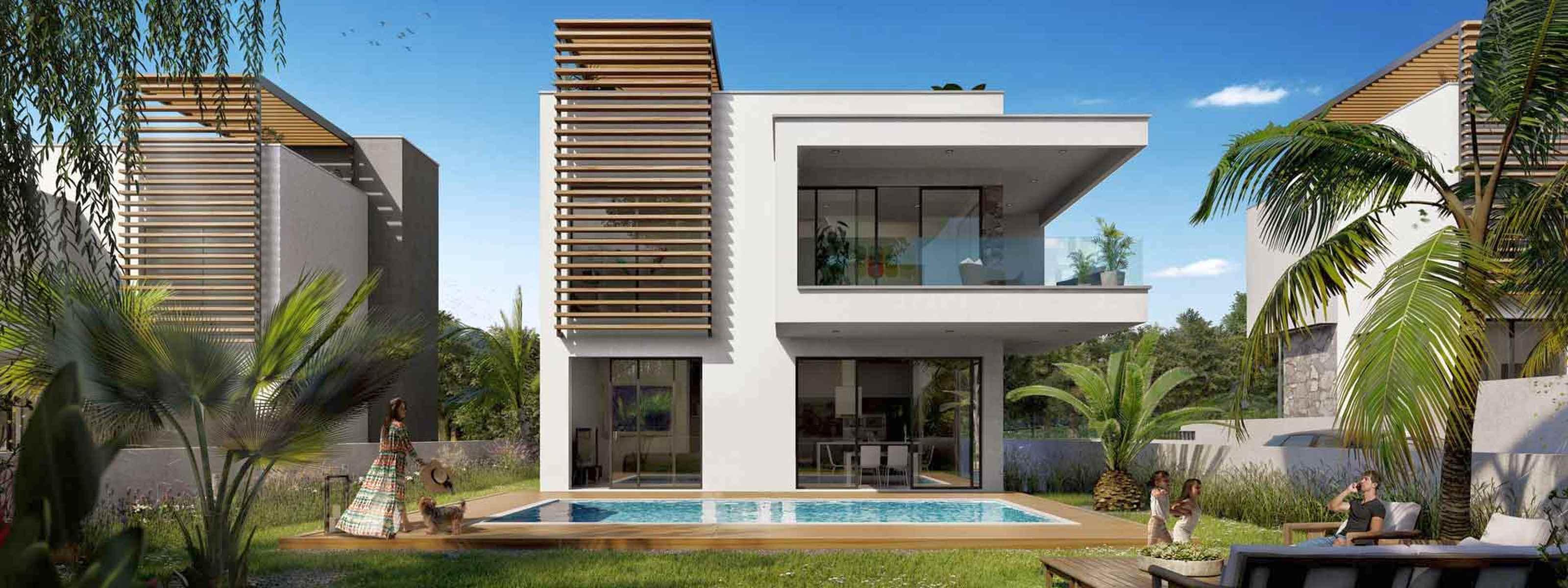 Villa in a cottage village in Limassol