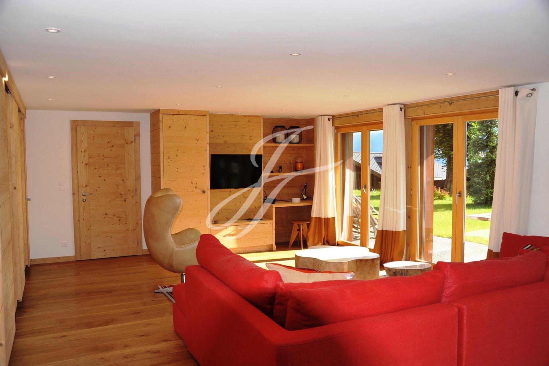 Апартаменты с тремя спальнями в Швейцарии, горнолыжный курорт Вербье