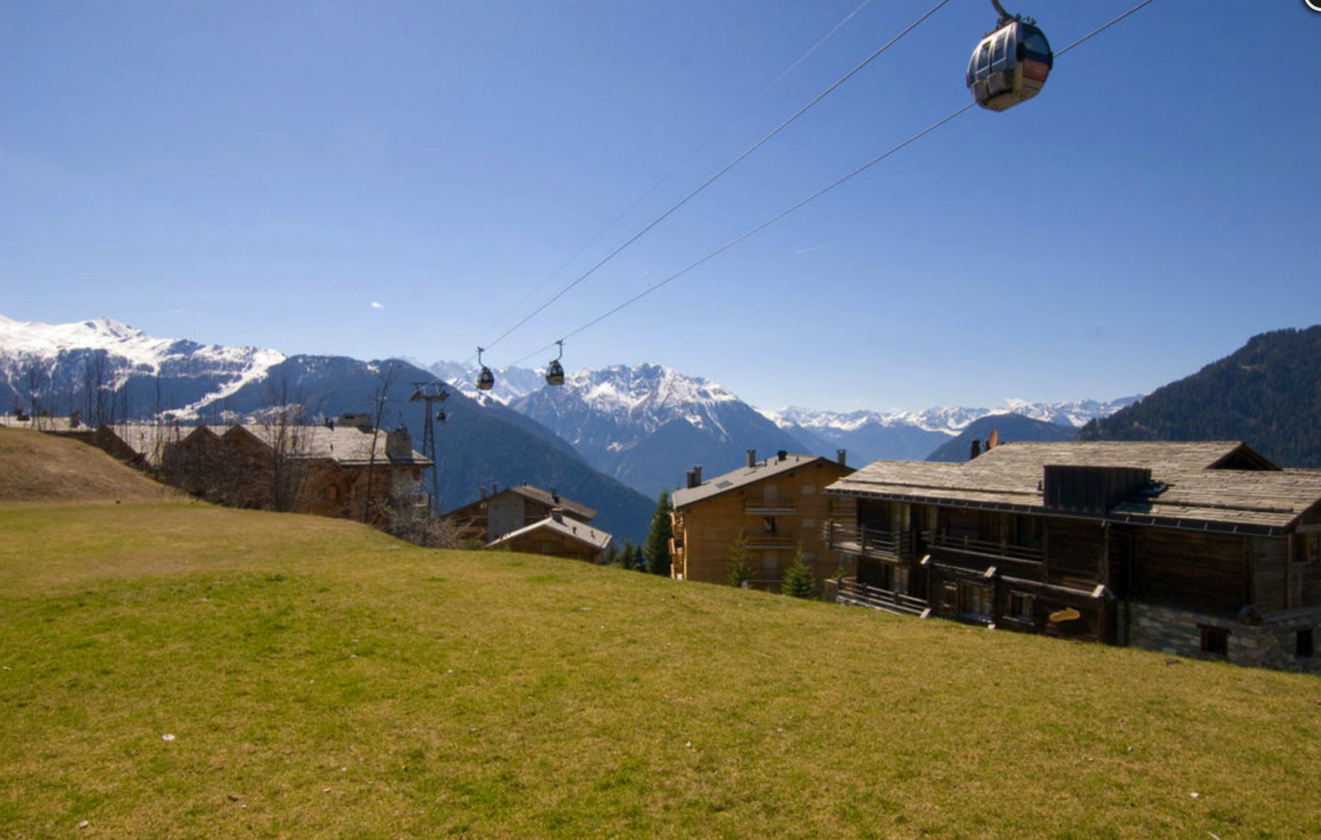 Квартира с видом на Альпы в Вербье, в районе улицы Медран, Щвейцария