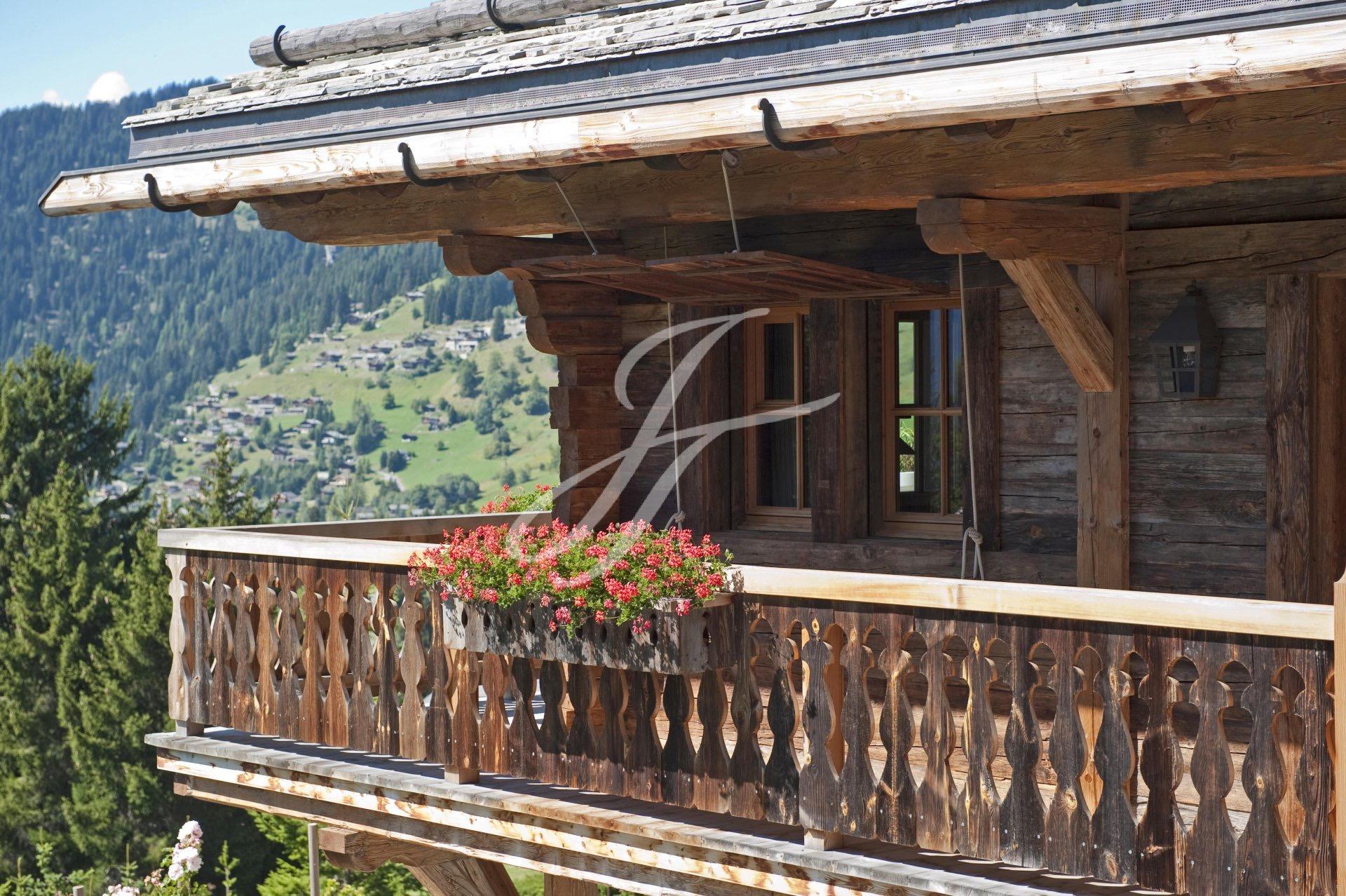 Роскошное шале в Швейцарии, горнолыжный курорт Вербье́, Альпы