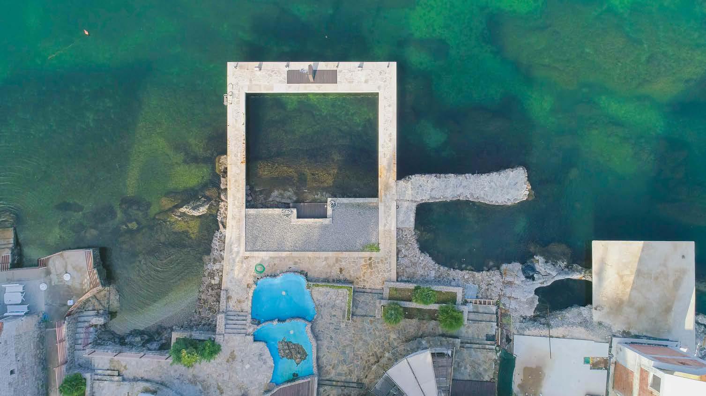 Modern frontline villa in the Tivat Bay