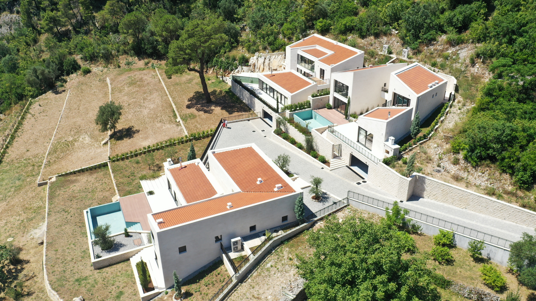 Newly built villa in Prcanj, Kotor