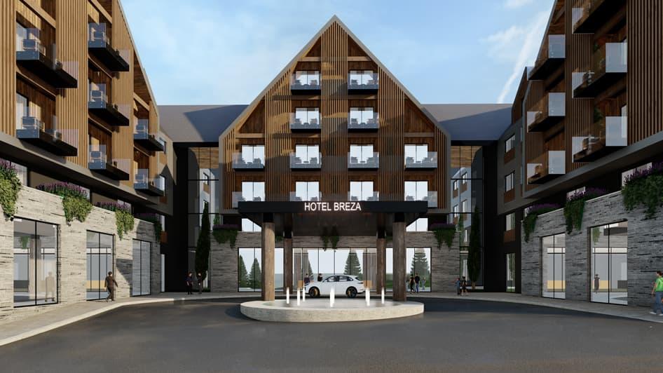 5* Hotel Breza на севере Черногории, Колашин