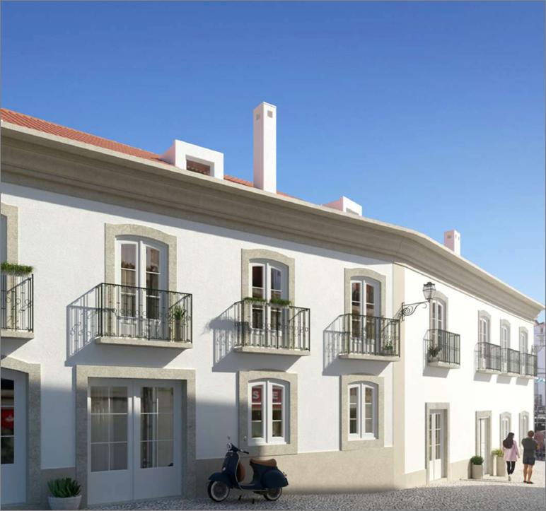 Апартаменты в историческом особняке в городе Сету́бал