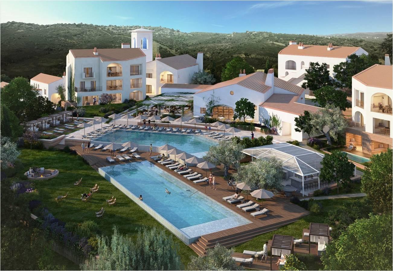 Апартаменты в клубном проекте «Loulé Resort» в Алгарве