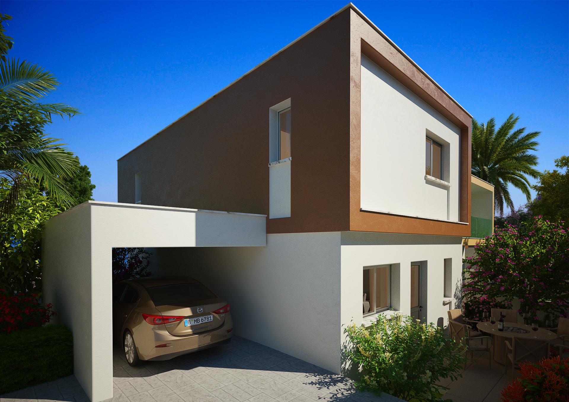Престижное городское жилье  - комплекс Jasmine Gardens в Пафосе