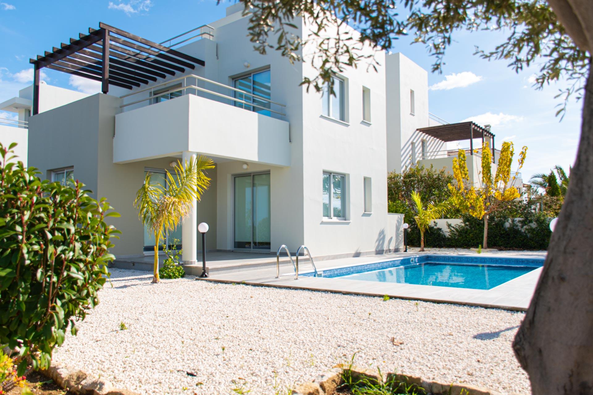 Виллы в комплексе с видом на море - Riza Heihts, Пафос