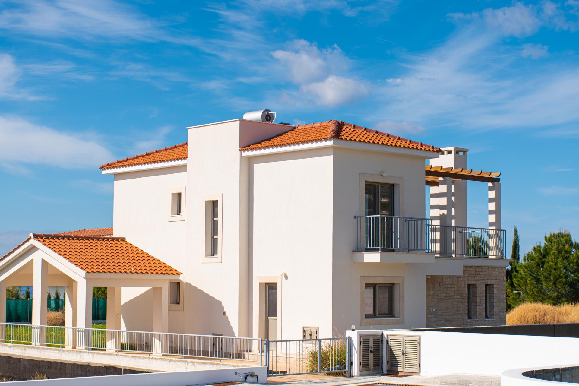 Средиземноморский стиль в престижном проекте Peyia Coastal Vilas, Пафос