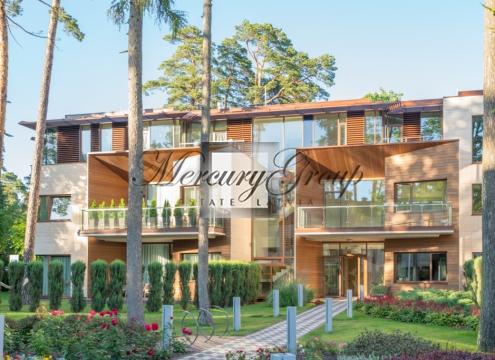 Квартира в новом жилом проекте в центре Юрмалы