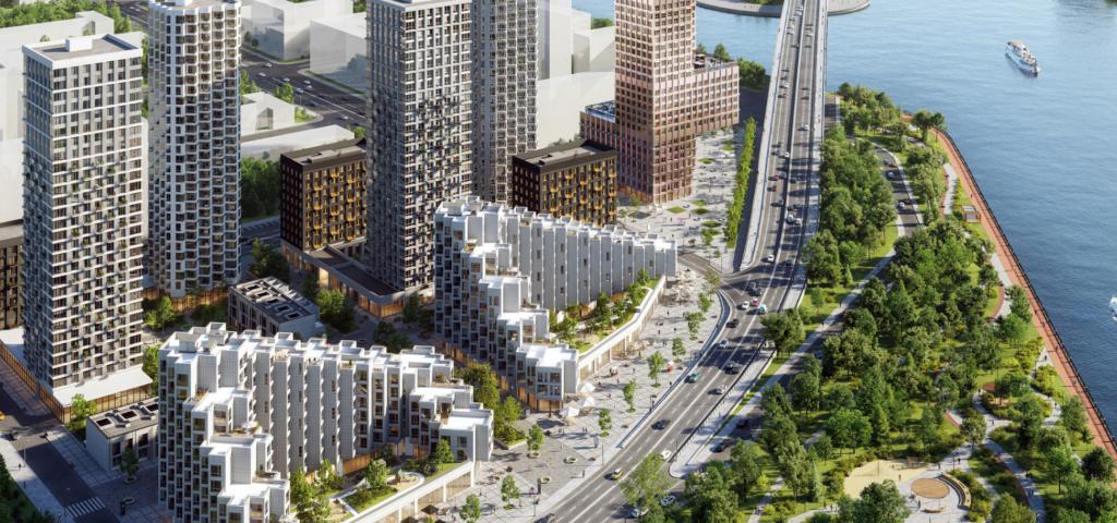 Жилой квартал Shagal - крупнейший проект Европы, Москва