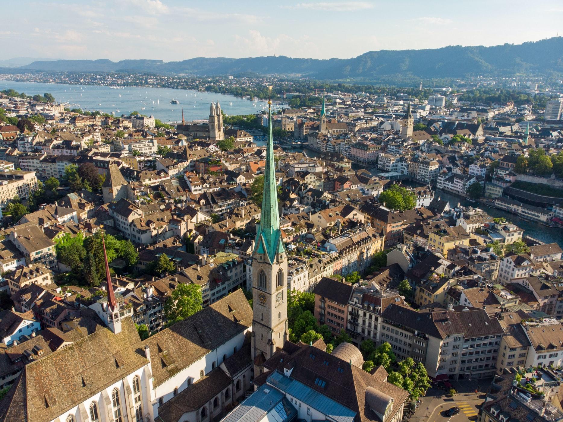 Стоимость проживания в Швейцарии - Цюрих, Берн и Женева