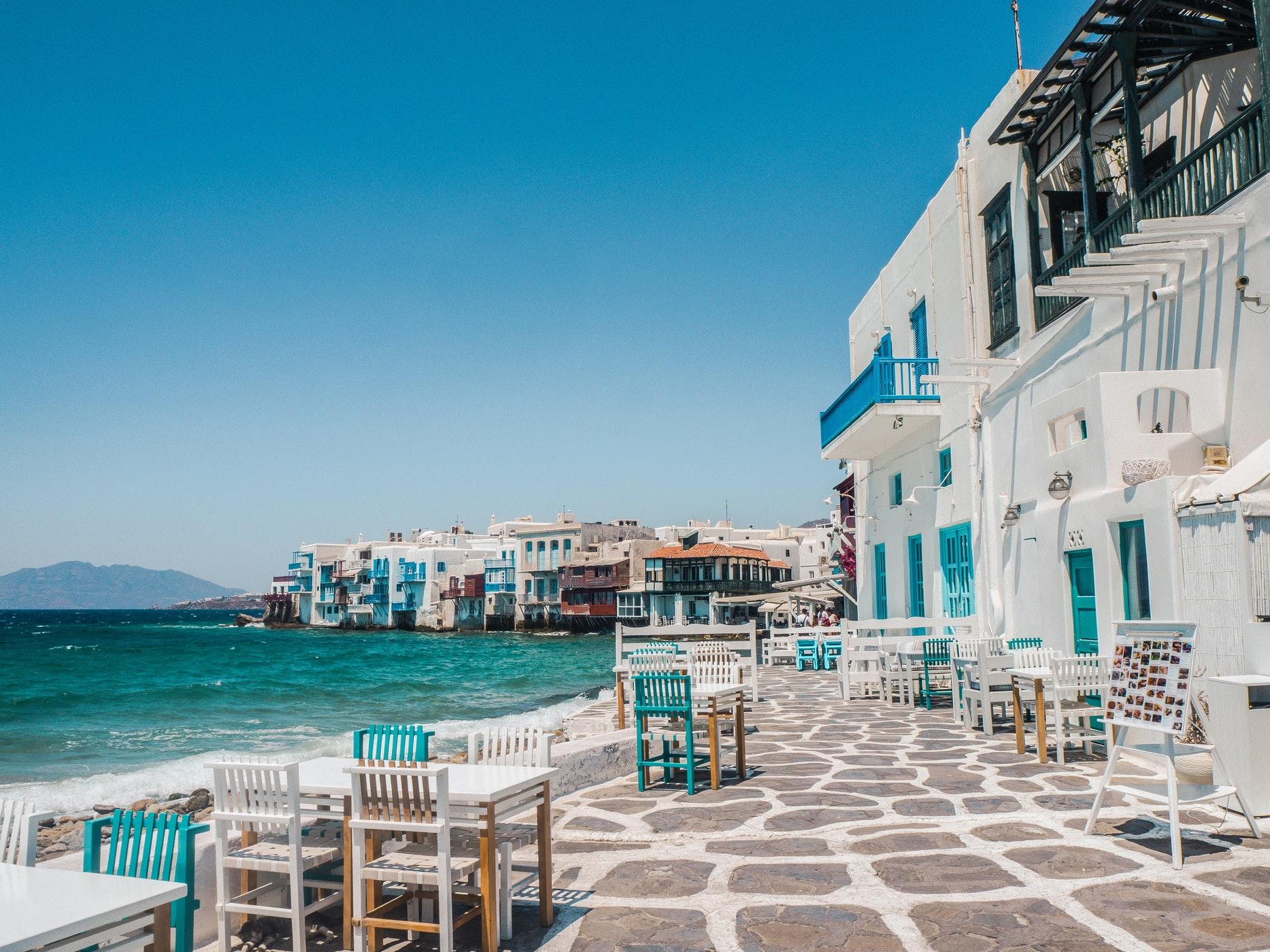 Удивительно красивая и недорогая Греция