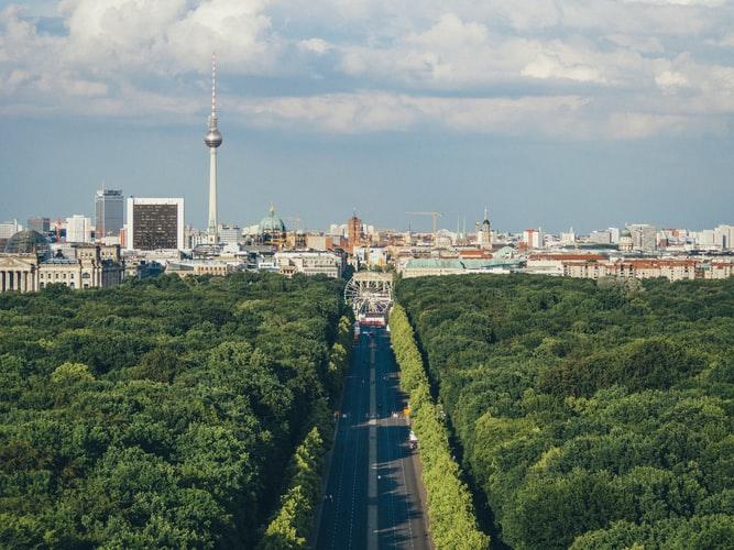 Уютная квартира рядом с парком в Берлине, Германия