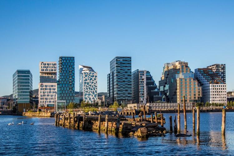 Сильный рынок жилья в Осло, Норвегия