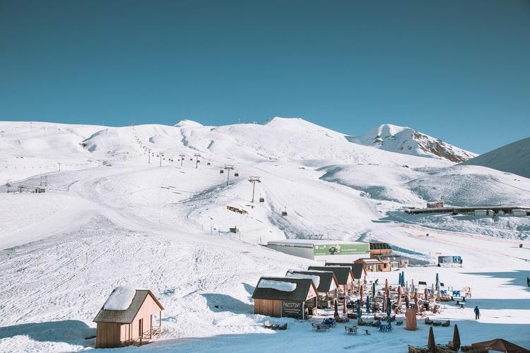 Gröden ski resort in the heart of the Dolomites