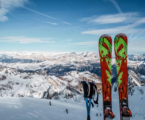 Legendary ski resort Arlberg, Austria