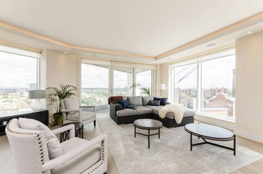 Spacious 3 bedroom apartment for sale in London