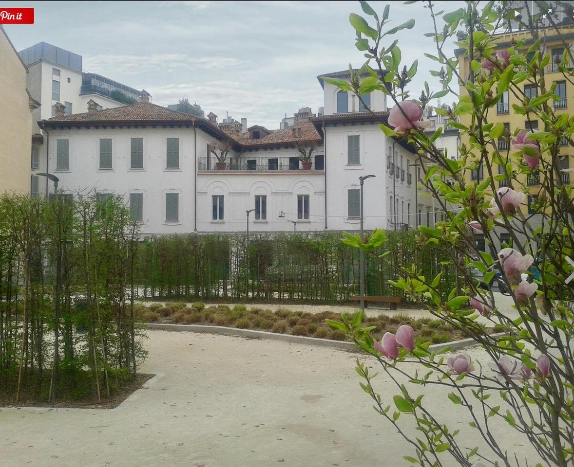 Уникальная квартира в Милане в историческом палаццо 15 века