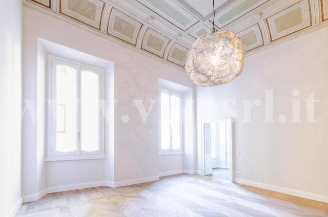Unique apartment in Milan in the historic palazzo of the 15th century