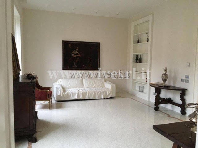 Apartment in Milan with a view of the Sforza castle in the historic district of the city