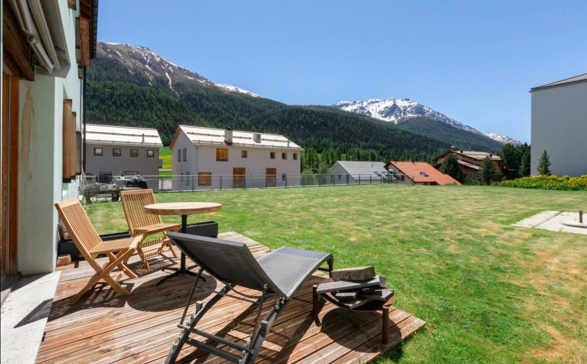 Apartment for sale with mountain views in Switzerland