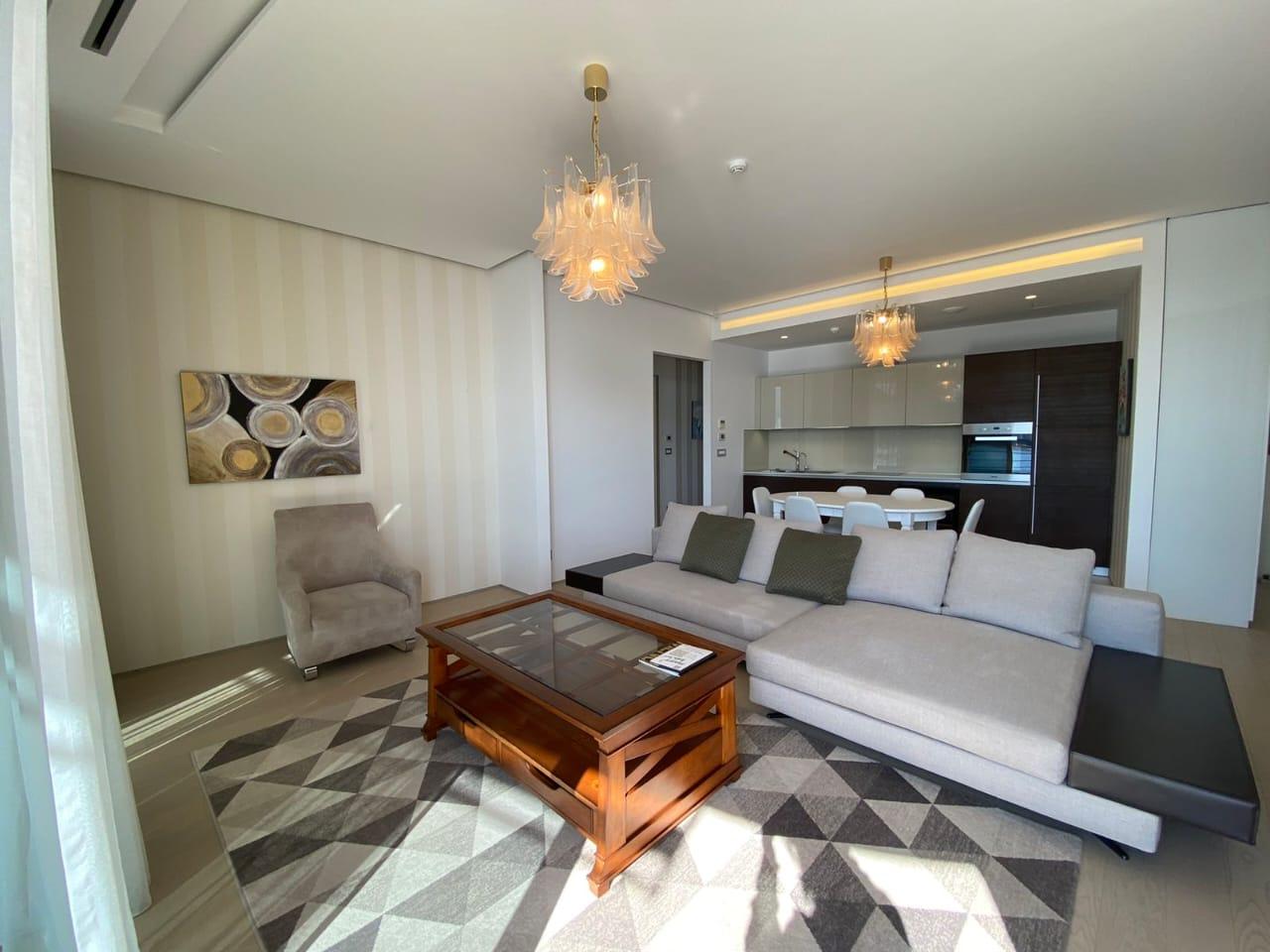 Two bedroom apartment in Budva, Dukley Gardens complex