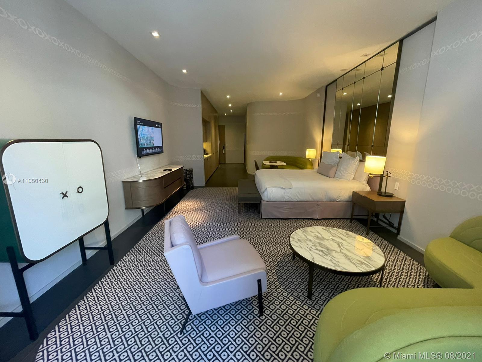3 Номера в отеле SLS LUX Brickell, Майами