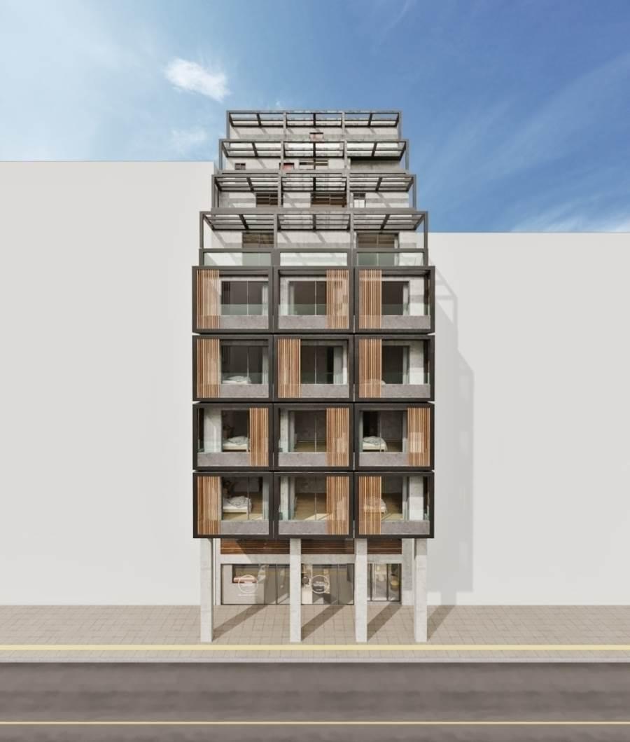 22 студенческих апартамента под сдачу в аренду + ритейл на первом этаже