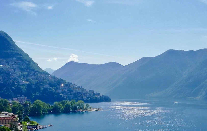 10 charming houses and apartments in Lugano with beautiful views and gardens