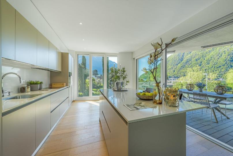 Виллы и апартаменты в итальянской Швейцарии